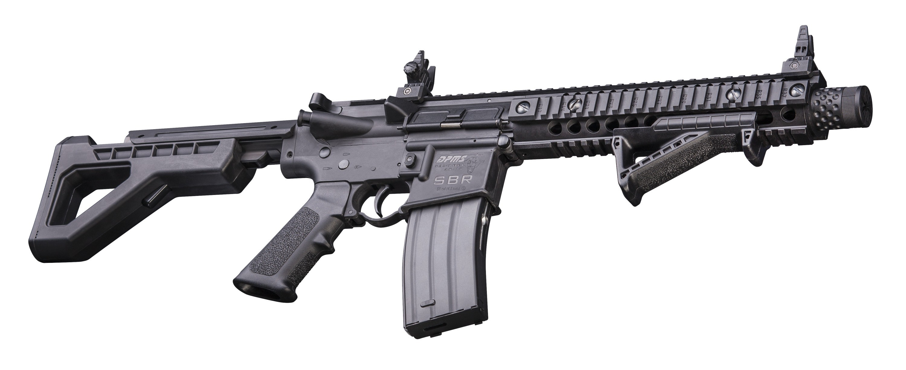 Crossman DPMS SBR Full Auto BB Rifle | R&L Archery